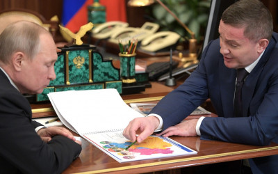 Владимир Путин поддержал Андрея Бочарова и его предложения по развитию Волгоградской области