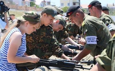 В военно-спортивной игре «Победа» примут участие команды из 45 регионов