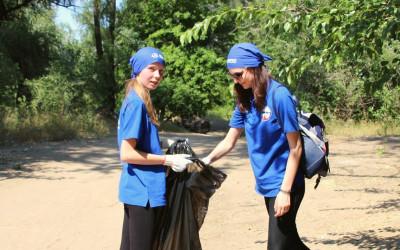 Добровольцы волгоградского региона помогут очистить берега рек от мусора