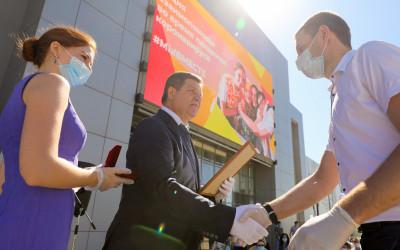 «Мы вместе»: работа волонтеров Волгоградской области отмечена Президентом России