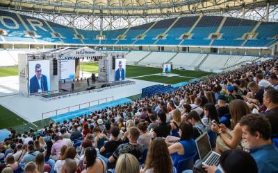 Первый межрегиональный форум молодежного предпринимательства «За бизнес» объединил семь тысяч участников