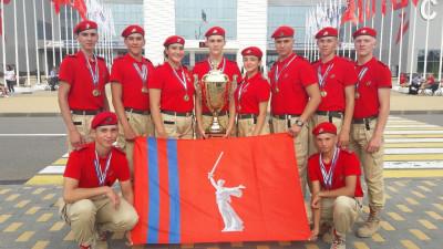 Волгоградцы заняли первое место в финале всероссийской военно-спортивной игры «Победа»