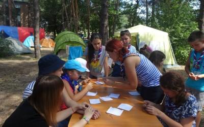 В детских лагерях региона проходят тематические мероприятия