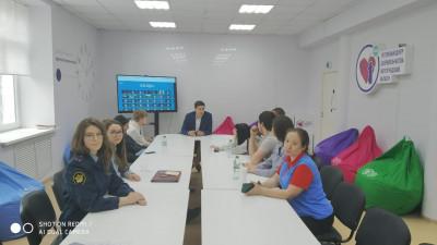 """В рамках проекта """"Возвращение"""" состоялась встреча с условно осужденными подростками"""
