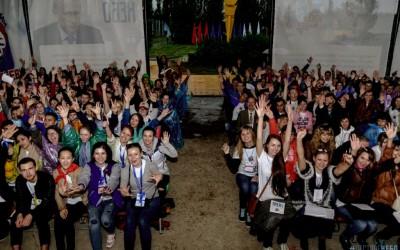 В волгоградском регионе открылся молодежный форум «Пестрое небо»