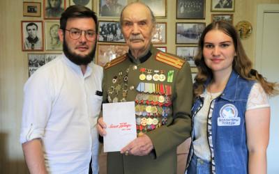В Волгограде состоялось вручение книги «Лица Победы» участнику Великой Отечественной войны