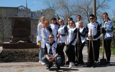 Акция «Всероссийский субботник» объединила молодежь региона