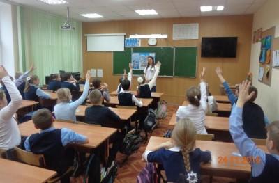 В школах Волгограда продолжаются профилактические акции