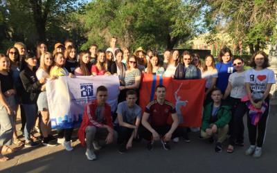 Волгоградские школьники - участники окружного форума «Молодая волна»