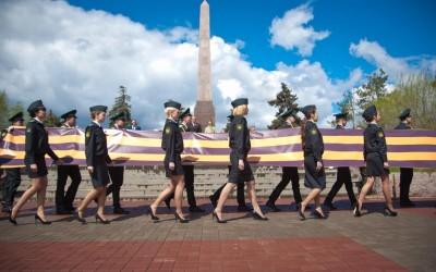 Волгоградский регион присоединился к всероссийской акции «Георгиевская ленточка»