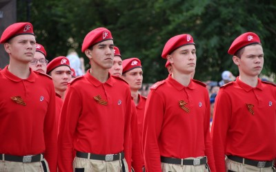 """В Волгоградской области растет число участников движения """"Юнармия"""""""