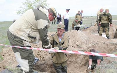 В Волгоградской области проходит межрегиональный слет поисковиков