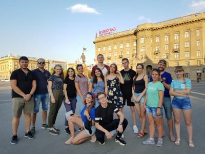 Волгоградские студенты стали участниками смены «Россия – страна возможностей. Молодежная команда страны» форума «Территория смыслов»