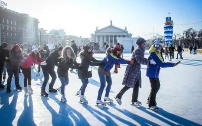 """Волгоградские студенты присоединились к всероссийской акции """"Татьянин лёд"""""""