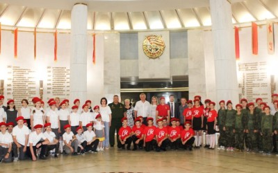 Волгоградские школьники присоединились к Всероссийскому движению «Юнармия»