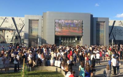 Выпускники Волгоградской области встретились на большом празднике