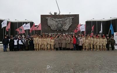 Молодежь региона приняла участие в памятных мероприятиях, приуроченных ко Дню неизвестного солдата