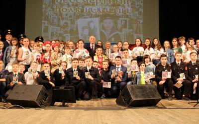 Волгоградские школьники встретились с Василием Лановым