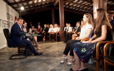 Андрей Бочаров: «Молодежь не должна занимать позицию стороннего наблюдателя»