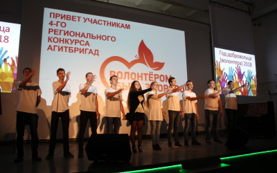 Волонтерские агитбригады рассказали о плюсах добровольческой деятельности