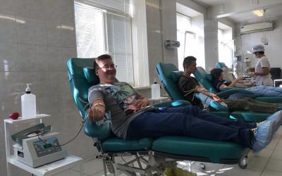 В регионе развивается добровольческое донорское движение