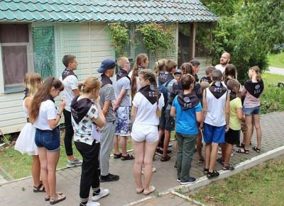 В Волгоградской области летний лагерь для детей открыл педагогический вуз