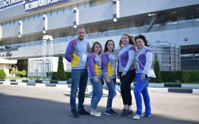 Волгоградские волонтеры приняли участие в  Большом фестивале добровольцев