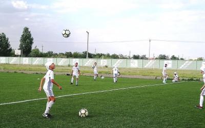 Лагерь «Зеленая волна» организовал смену для юных спортсменов