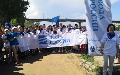 Волгоградская область присоединилась к экологическому марафону «Чистая Волга»