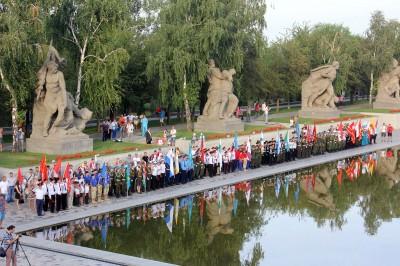 В Волгоградской области состоялось открытие Всероссийской игры «Победа»