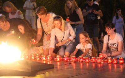 Жители волгоградского региона принимают участие в патриотических акциях в канун Дня памяти и скорби