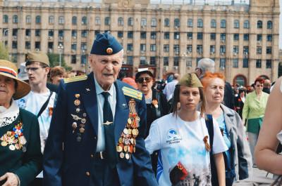Волгоградские волонтеры примут участие в проведении парада Победы и акции «Бессмертный полк» в Москве