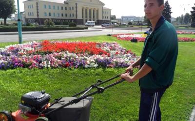 Волгоградские студенческие отряды активно участвуют в благоустройстве территорий