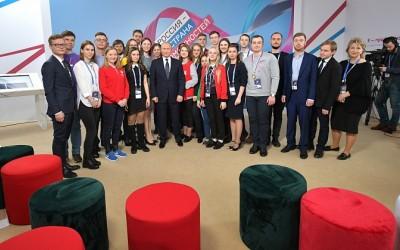 Волгоградский студент представил Владимиру Путину свои проекты