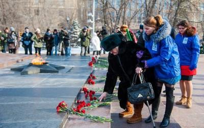 Волонтеры региона встретили Сталинградскую Победу