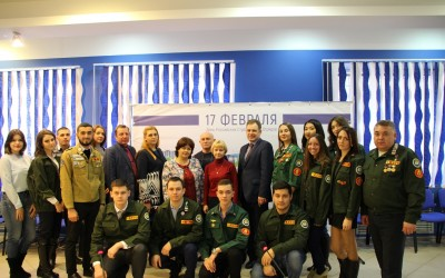 В Волгограде отметили день Российских студенческих отрядов