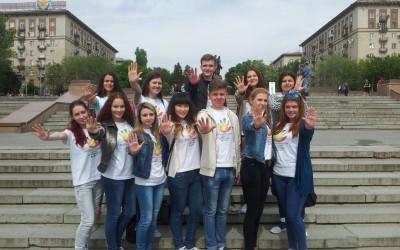 Волонтеры «Прорыва» присоединились к легкоатлетическому забегу