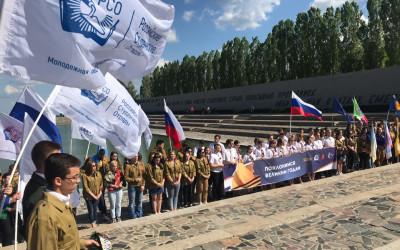 Волгоградские студенческие отряды приняли участие во Всероссийской патриотической акции