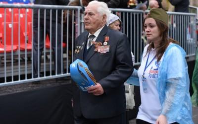 Волгоградские волонтеры примут участие в организации парада Победы в Москве